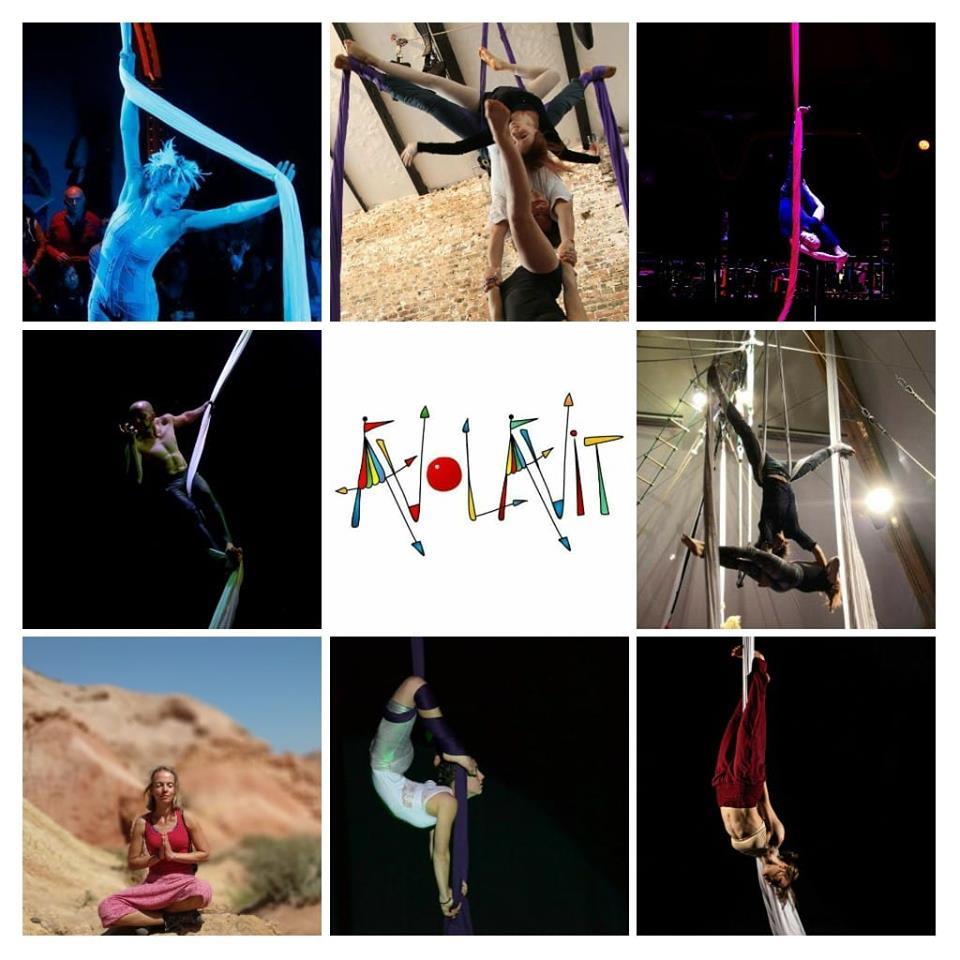 Workshops /Festival de cirque 2021 ; Tissu aérien ,trapèzes, cerceau, hamac…