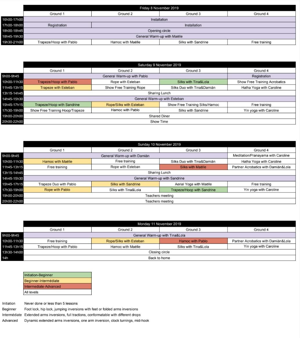 planing festival
