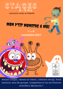 Stage 8-12 ans